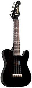 UTL-30BK Classic Guitar Shape Ukulele
