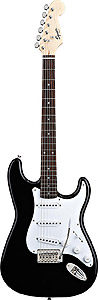 Squier Bullet Stratocaster with Tremolo - Black