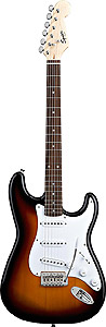 Squier Bullet Stratocaster with Tremolo - Brown Sunburst