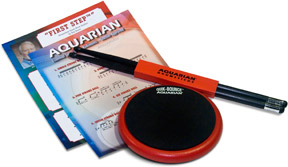 Aquarian QBP6 Quik-Bounce 6 Pad and Sticks [QBP6]