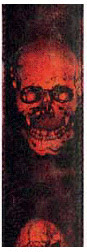 Planet Waves Stoned Guitar Strap - Horror Show