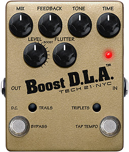 Tech21 Boost D.L.A. with Tap Tempo [DLA-TT]