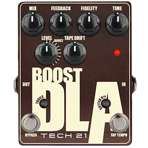 Tech21 Boost D.L.A. Metallic with Tap Tempo