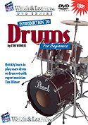 Watch And Learn Introduction to Drums (DVD)
