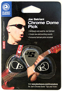 Planet Waves Joe Satriani Chrome Dome Picks [JSCD-01]
