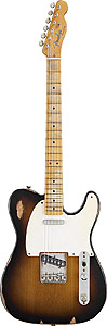 Fender Road Worn 50s Telecaster - 2-Color Sunburst - Maple [0131212303]
