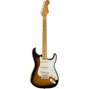 Fender Road Worn 50s Stratocaster - 2-Color Sunburst - Maple