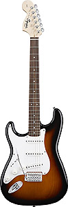 Squier Stratocaster Left Handed - Brown Sunburst [0310620532]