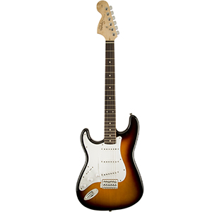 Squier Stratocaster Left Handed  Brown Sunburst