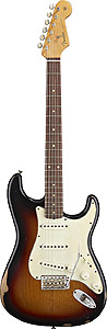 Road Worn™ 60s Stratocaster® - 3-Color Sunburst