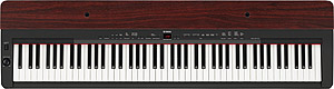 Yamaha P155 - Black with Mahogany []