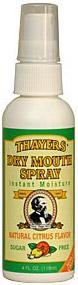 Dry Mouth Vocal Spray - Citrus