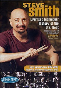 Hudson Music Steve Smith: Drumset Technique and History of the U.S. Beat [HL00320343]
