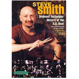 Hudson Music Steve Smith: Drumset Technique and History of the U.S. Beat