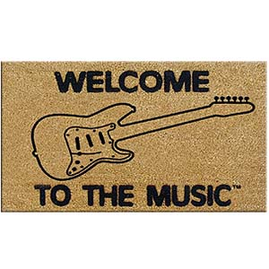 Welcome to the Music Doormat - Electric