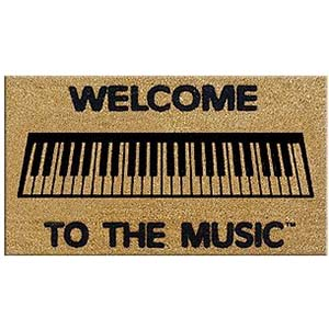 DR Welcome to the Music Doormat - Keyboard [MK1]