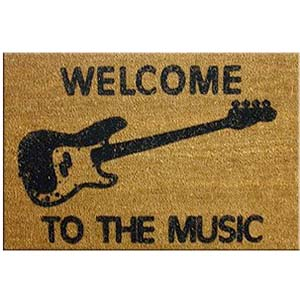 DR Welcome to the Music Doormat - Bass [MB1]