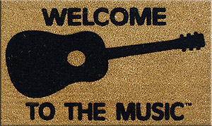 DR Welcome to the Music Doormat - Acoustic [MGA1]