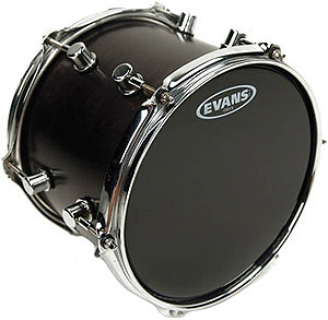 Evans Resonant Black Drumhead
