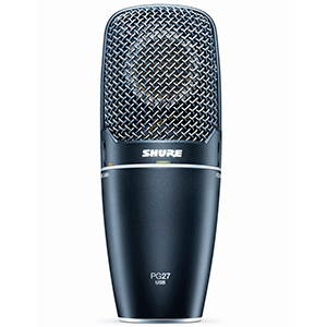 Shure PG27-USB Condenser USB Microphone