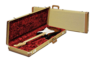 Fender Deluxe Tweed (Strat® or Tele®) Guitar Hard Shell Case