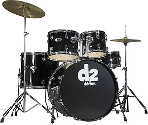 Ddrums D2 - Midnight Black