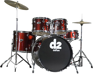 Ddrums D2 - Blood Red [D2 BR]