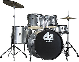 Ddrums D2 - Brushed Silver [D2 BS]