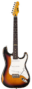 ESP LTD ST-203 - Distressed 3-Tone Burst [lst2033tb]