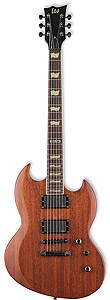 ESP LTD Viper-300M - Vintage Brown Satin []
