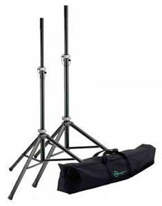 Konig Meyer Speaker Stand Pair with Carrying Bag [21451.000.55]