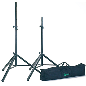 Konig Meyer Speaker Stand Pair with Carrying Bag