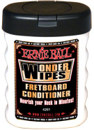 Ernie Ball Wonder Wipes - Fretboard Conditioner