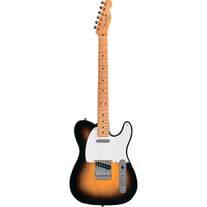 Fender Classic Series 50s Telecaster® 2-Color Sunburst with Gig Bag