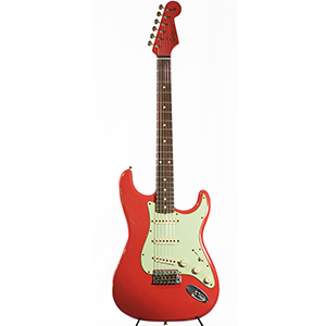 Custom Shop 1960 Stratocaster Relic Fiesta Red
