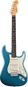 Fender 60s Stratocaster® - Lake Placid Blue with Gig Bag [0131000302]