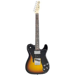 Fender 72 Telecaster Custom - 3-Color Sunburst with Gig Bag - Rosewood