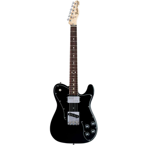Fender 72 Telecaster Custom - Black with Gig Bag - Rosewood [0137500306]