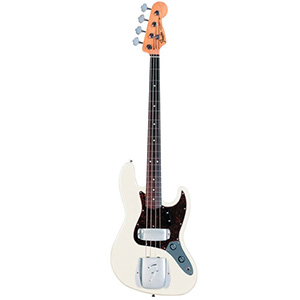 Fender American Vintage 62 Jazz Bass® - Olympic White with Case [0190209805]