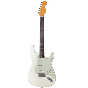 Fender American Vintage 62 Stratocaster - Olympic White with Case [0100100805]