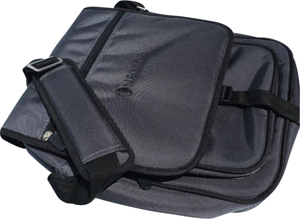 Shaka Laptop Messenger Bag - Charcoal Grey/Black