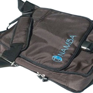 Namba Gear Kava Laptop Studio Messenger - Mayan Brown/Blue []