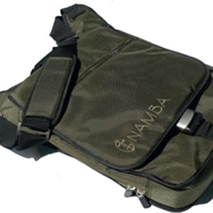 Namba Gear Kava Laptop Studio Messenger - Olive Green/Bronze []