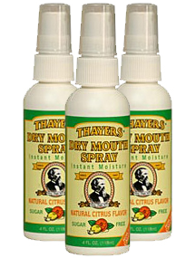 Dry Mouth Vocal Spray - Citrus 3 Pack