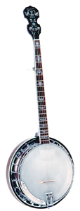 Savannah Left Handed 5-String Banjo 24-Bracket [sb100-L]