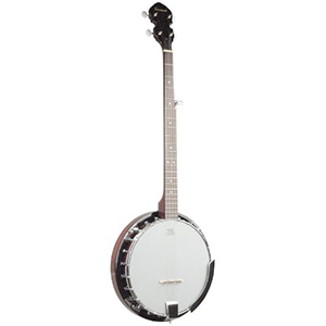 Left Handed 5-String Banjo 24-Bracket