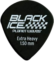 Planet Waves Black Ice Pick Pack Extra Heavy Gauge
