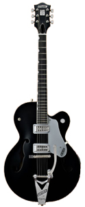 G6120SHBKTV Brian Setzer Hot Rod - Black