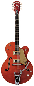 Gretsch G6120SSU Left-Handed Brian Setzer - Orange Stain [2400109812]
