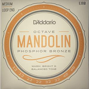 Daddario EJ80 Octave Mandolin Strings